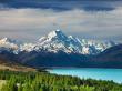 Mt Cook Pukaki lake_shutterstock_65046529