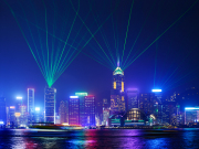 symphony of lights show hong kong victoria harbour