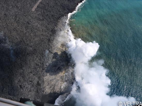 Big Island Volcano Helicopter Open Door