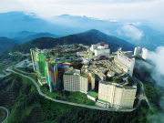 resorts world genting highlands aerial view