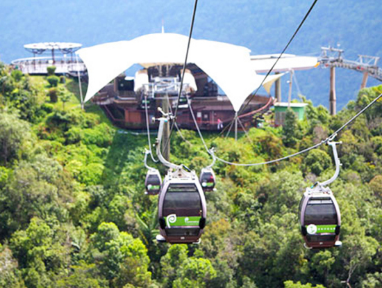 Langkawi Cable Car Ride And Visit To Oriental Village Private Tour