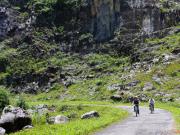 Cycling among Karst.