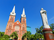 Notre Dame Cathedral Basilica in Ho Chi Minh