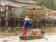 villages along the Mekong Delta