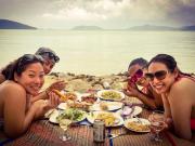 Beach Picnic Koh Samui Thailand