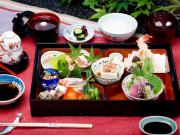 TM 神泉苑平八「京料理+恵方巻(ハーフ)」
