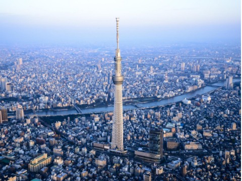 Helicopter Sightseeing Tours Tokyo