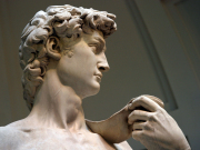 Michelangelo's David at Accademia Gallery