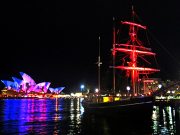 Vivid Sydney Tall Ship Dinner Cruise (7)