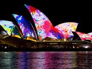 Vivid Sydney Tall Ship Dinner Cruise (4)