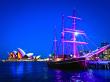 Vivid Sydney Tall Ship Dinner Cruise (1)