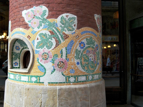 Gaudi Mosaics Workshop in Barcelona (1)