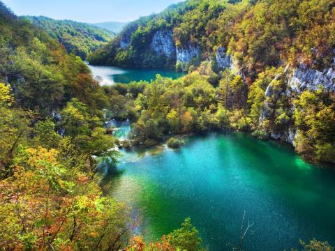 プリトヴィツェ湖畔国立公園