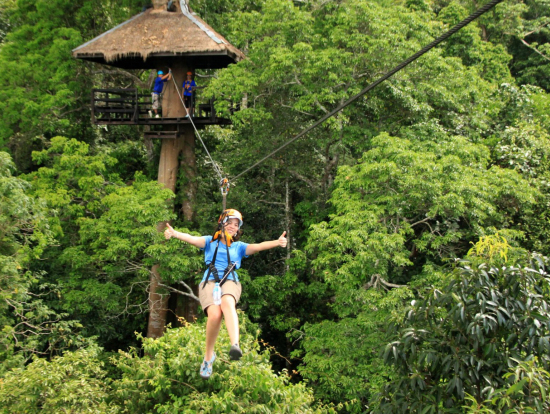Chonburi Zipline Canopy Adventure from Bangkok or Pattaya with Lunch & Chonburi Zipline Canopy Adventure from Bangkok or Pattaya with ...