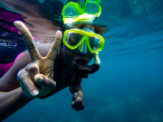 snorkeling koh tao island from koh samui thailand