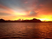 SUNSET IN PHANG NGA BAY 2