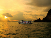 SUNSET IN PHANG NGA BAY