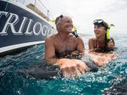 Couple Snorkel