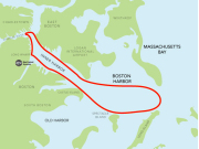 USA_Boston_Harbor Cruises_Historic Cruise Map