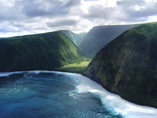 Blue Hawaiian Kohala Mountains Cliffs Amp Waterfalls Air Tour From Waikol