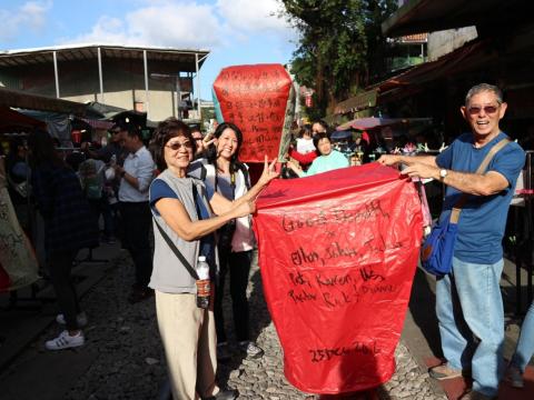 Jiufen Lantern Making Taipei