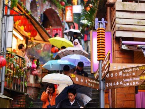 Jiufen Old Street Taipei