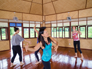 7.Museflower Retreat & Spa Chiang Rai.dance class