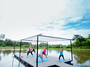 4.Museflower Retreat & Spa Chiang Rai.yoga class 2