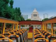 オープンバス'O Sola mio(国会議事堂)