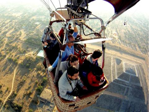 メキシコシティ気球3