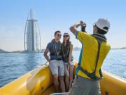 Burj Al Arab Dubai, speed boat