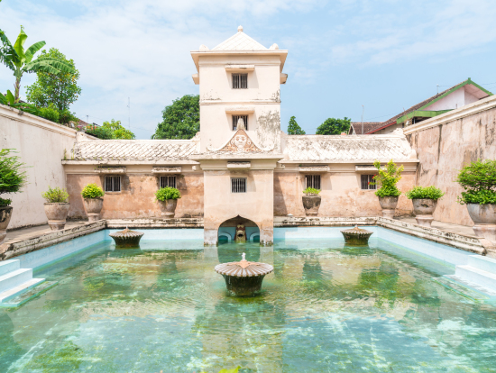 Yogyakarta Half Day Historical Private City Tour Indonesia Water Palace Shutterstock 514980040