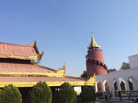 旧王宮 創建当時の監視塔