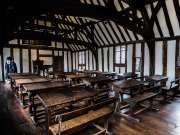 Shakespeare's Schoolroom & Guildhall_Georgian Classroom_landscape_Sara Beaumont Photography