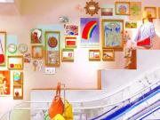 Intérieur Magasin escalator