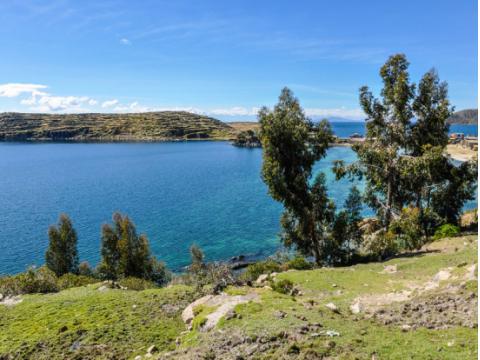 チチカカ湖(太陽の島)ツアー
