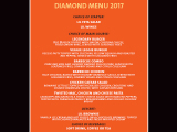 Hard Rock Cafe Barcelona Diamond Menu VT