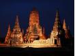 Thailand_Bangkok_Ayutthaya_Wat_Chaiwatthanaram_Night_Lighting_shutterstock_395383387
