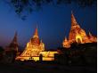Thailand_Bangkok_Wat_Phra_Si_Sanphet_Temple_Night_Lighting_shutterstock_275569928