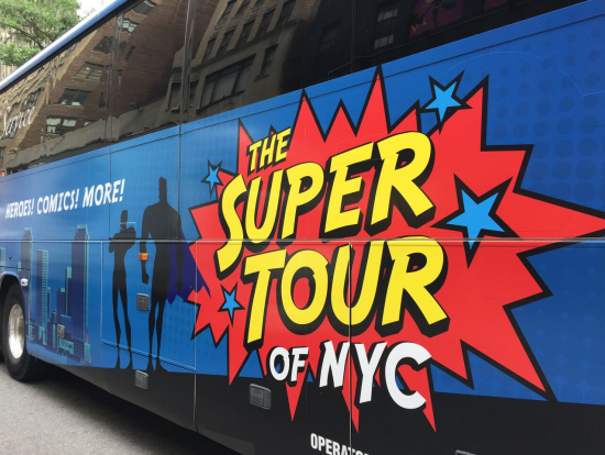 Seinfeld Bus Tour New York