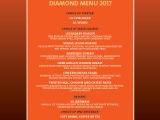Hard Rock Cafe Lisbon Diamond Menu VT