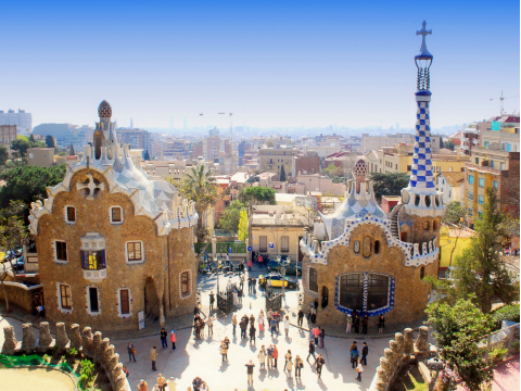 Spain_Barcelona_Park_Guell_shutterstock_10778065