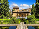 Alhambra (Alcazaba, Nasrid Palaces, Generalife) Skip the Line Tickets + 24hrs Alhambra & Granada Audio guide Tourist Navigator -