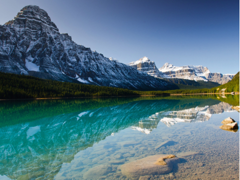 Canada_Banff_Waterfowl_Lake_shutterstock_89896423