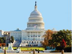 アメリカの政治の中心国会議事堂