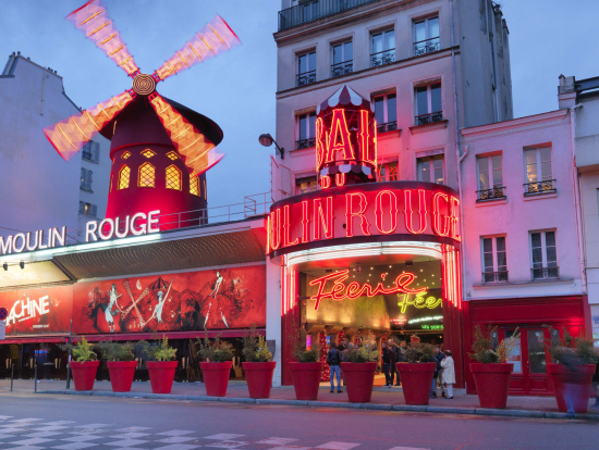 moulin rouge paris show incl bottle of champagne paris tours activities fun things to do in. Black Bedroom Furniture Sets. Home Design Ideas