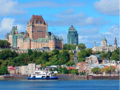 ケベック市内観光