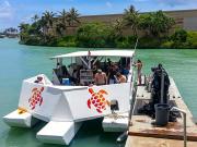 Barge-deck