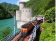 黑部峡谷小火车