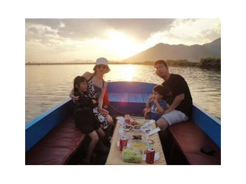 Nya Trang Sunset cruising boat